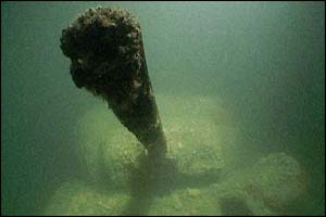 D-Day submerged relics
