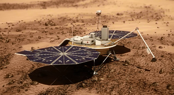 Mars One Lander animation
