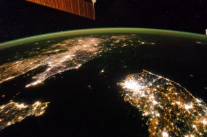 North Korea from the ISS