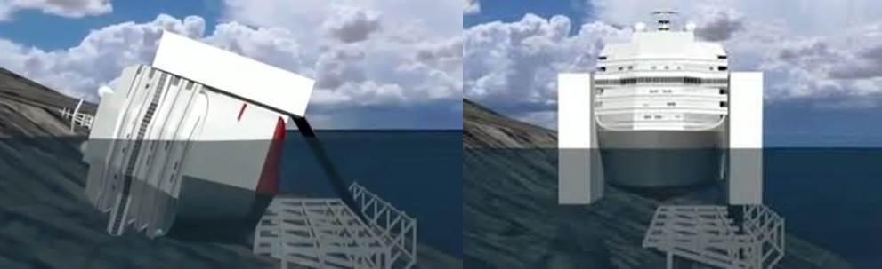 Parbuckling Costa Concordia 3