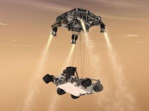 Sky Crane Curiosity image