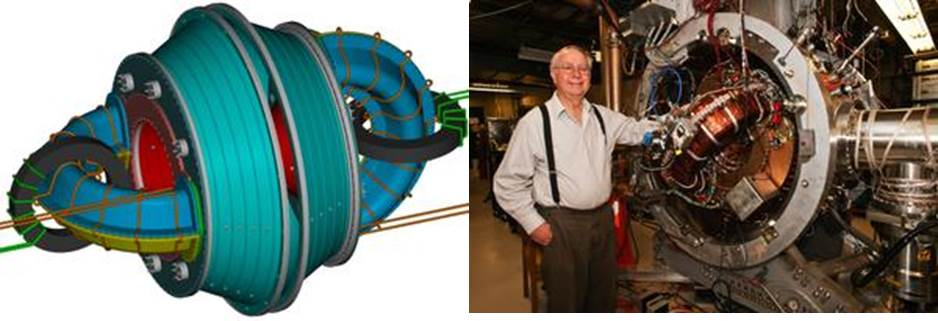 Thomas Jarboe's fusion reactor