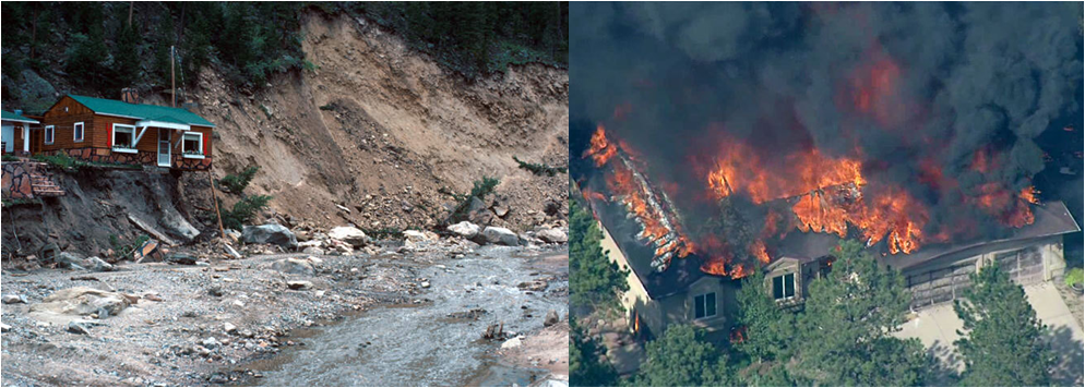 Fort Collins extreme weather events 2013