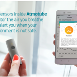 Atmotube air quality monitor