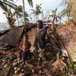 Cyclone Palm Tuvalu damage
