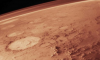 Mars view from space