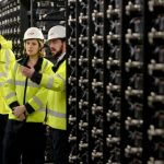 Energy companies are seeking utility-scale battery storage similar to this pilot project in the UK. Photo credit: UKPN