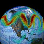 Explanation of a Wavering Jet Stream Points to Global Warming at the Poles