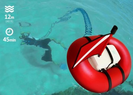 Airbuddy Makes Recreational Diving Less Weighty Then Scuba