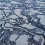 In Canada's North the Permafrost Thaw is Pockmarking the Landscape as Methane Gets Released