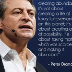 New Evidence for Abundance States Peter Diamandis