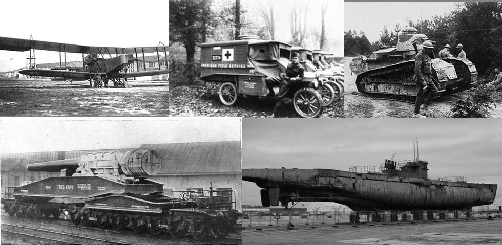 Cars World War