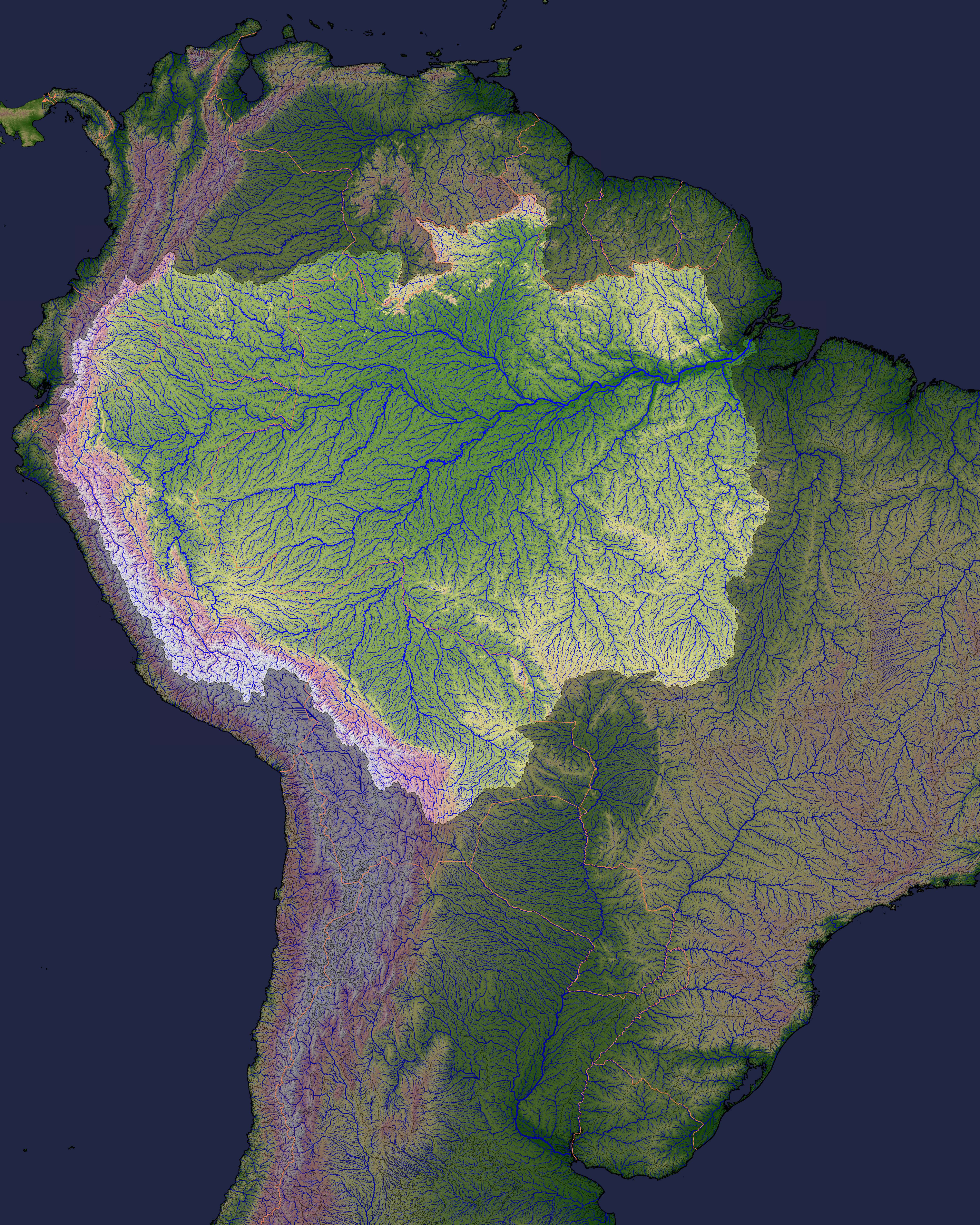 Picture of: South America S Rivers Are Extremely Susceptible To Climate Change