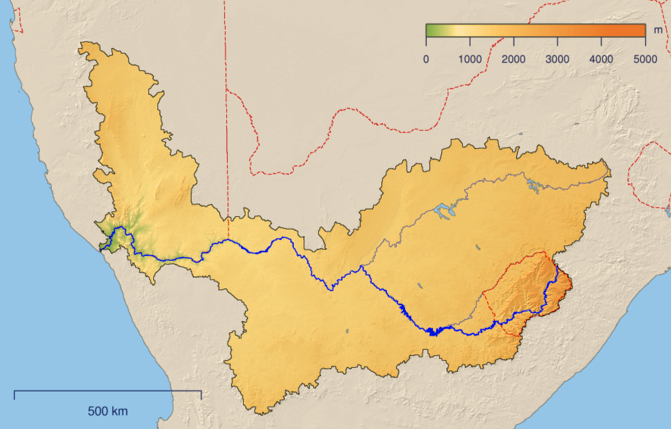 Zambezi River On Map Of Africa.Part 2 Of Climate Change And Its Impact On The Rivers Of Africa