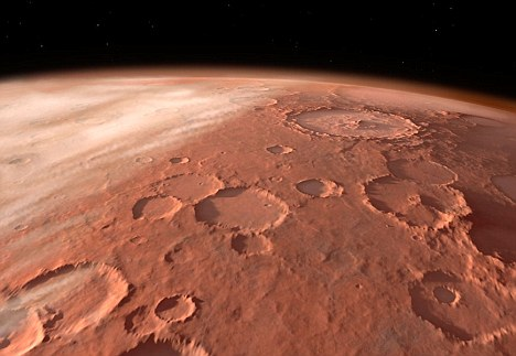 NASA Picture that Reveals Possible 'Archaeological Site' on Mars Mars-surface-showing-impact-craters
